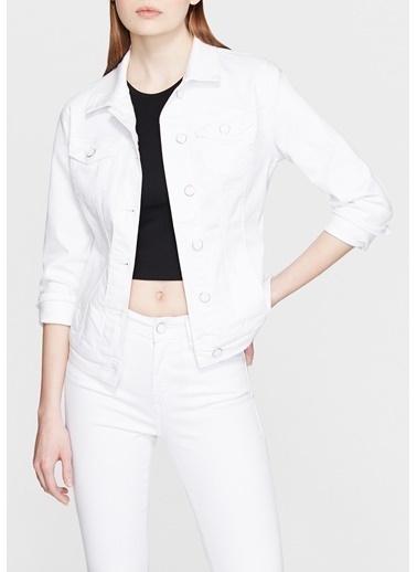 Mavi Kadın  Daisy Gold Jean Ceket 1113629204 Beyaz